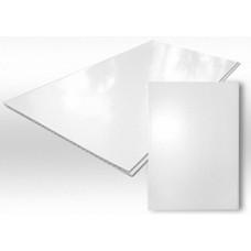 Панель ПВХ белая глянцевая 2,7 х 0,5 м