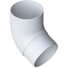 Колено трубы ПВХ 67°