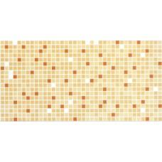 Панель интерьерная ПВХ  955 х 480 мм Мозаика Оранжевый микс