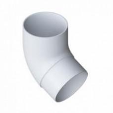 Колено трубы ПВХ 45°